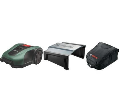 Bosch Indego M 700 met Garage en Opbergtas