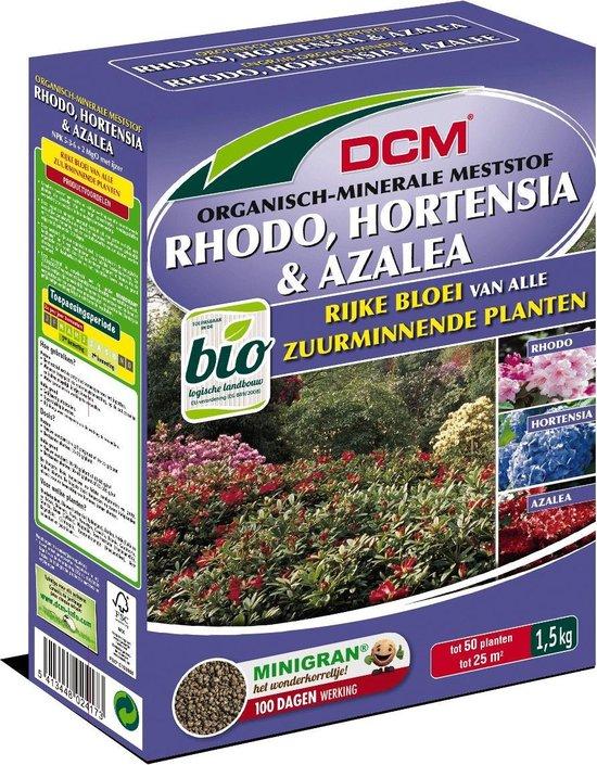 DCM bemesting voor azalea-rhodo en hortensia 1,5kg