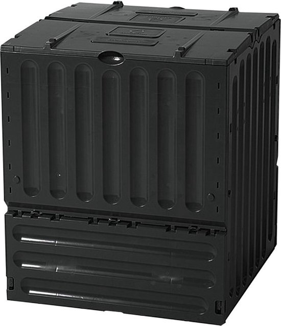 Garantia - ECO King - Compostvat - 600L - Zwart