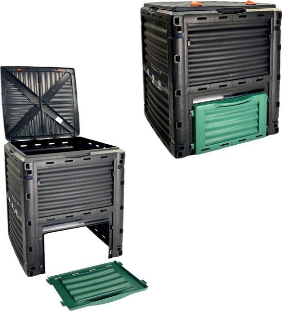 MaxxGarden composter - PVS compostbak - 80x65x65 cm - 300 liter