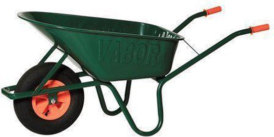 Vabor R802-PA Kruiwagen gelakt 90 liter 2 ply
